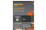 Brickman 900K - Product Sheet