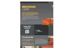 Brickman 1200K - Product Sheet