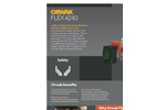 ORWAK - Model FLEX 4240 - Robust and Reliable Machine - Brochure