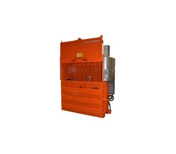 ORWAK - Model POWER 3820 - Dynamic Baler with Wide Mouth