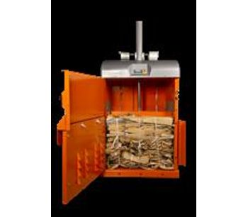 Compact baler with wide loading gate-1