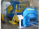 Presona - Model EP 40 OH - Hydraulic Horizontal Channel Baler