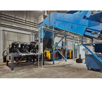 Baler for Recycling and Sorting Plants-2