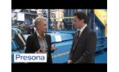 Presona@IFAT2014 - Video