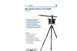 Norsonic - Model Nor265 - Microphone Boom / Turntable Basic Unit Brochure