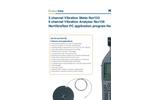 NorVibraTest PC application program Nor1038 - Brochure