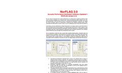 NorFlag - Version 4.0 - Acoustic Performance Estimation Softwar - Brochure