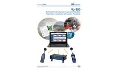 Norsonic - Version Nor850 - Reporting Software Brochure