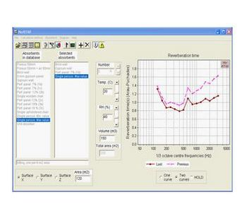 Norsonic - Version NorRT60 2.0 - Calculation Software for Reverberation Time in Rooms