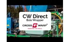 CW Direct Bale Wrapper | Cross Wrap Video