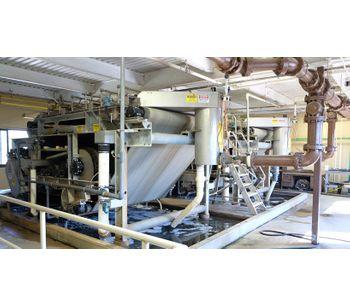 Komline-Sanderson Kompress - Model Series III - Belt Filter Press