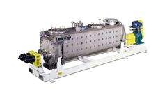 Komline-Sanderson - Paddle Dryer and Paddle Processor