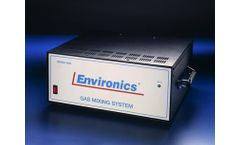 Environics - Model 4040 - Continuous Emissions Monitoring (CEM) Calibration Systems