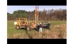 Standard Penetration Test Drillers Convert to CPT - Video