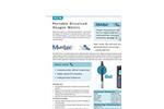 Multi 3410 - Portable Dissolved Oxygen Meters  Brochure