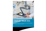 inoLab Multi 9430 IDS Multiparameter Benchtop Meter Brochure