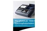 photoLab 7100 VIS Spectrophotometer Brochure