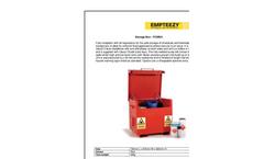 Empteezy - Model FCSB21 - Bunded Storage Vault - Brochure
