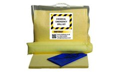 Empteezy - Model C15SK - Chemical Spill Kit Clip Top Bag with Carry Handle