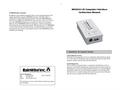 RainWise - MKIIICC-LR - Computer Interface Device Manual