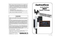 MK-III RTI - Sensor Assembly Instruction Maunal (Angled Panel)
