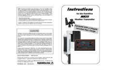 MK-III RTI - Sensor Assembly Instruction Manual (Flat Panel)