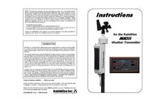 MK-III RTN - Sensor Assembly Instruction Manual (Flat Panel)
