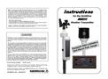 MK-III RTR - Sensor Assembly Instruction Manual (Flat Panel)