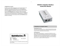 RainWise - MKIIICC - Computer Interface and Data Logger Manual