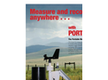 PortLog - Compact Rugged Industrial Grade Data Logging Weather Station Datasheet