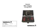 HM-1 HAZMAT Weather Station -  RDI-1 Instructions Manual