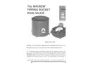 Rainew Tipping Bucket Rain Gauge Datasheet