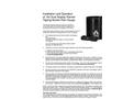 Dual Counter Wired Rain Gauge Instruction Manual