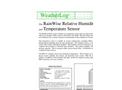 RainWise - RH/T - Relative Humidity and Temperature Sensors Datasheet