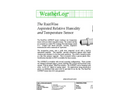RainWise - ASPRH/T - Aspirated Temperature and Humidity Sensor - Datasheet