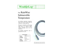 RainWise - ST-TH2O - Soil/Water Temperature Sensor - Brochure
