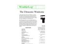 WindSonic - Model USWSC - Lightweight Ultrasonic Wind Sensor - Datasheet