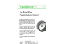 RainWise - PS - Precipitation Detector Datasheet