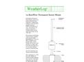 RainWise - S4 - Permanent Sensor Mount - Datasheet
