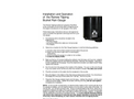 RainWise - 8 Diameter - Wired Rain Gauge Manual