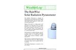 RainWise - Solar Radiation Pyranometer Datasheet