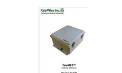 RainWise TeleMET - Model II - Cellular Interface & Optional Remote Solar Power Pack - Manual