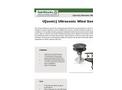 U[Sonic] Ultrasonic Wind Sensor Brochure