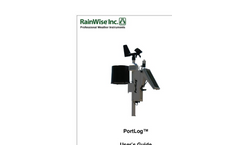 PortLog - Weather Station Manual