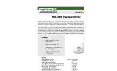 Model MS - 402 - Pyranometer - Brochure