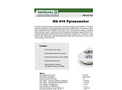 Model MS - 410 - Pyranometer - Brochure