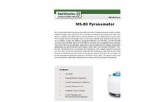 Model MS - 80 - Pyranometer - Brochure