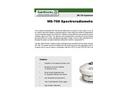 Model MS - 700 - Spectroradiometer Brochure