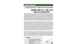 WISER (MS - 711 / MS - 712) Spectroradiometer Brochure