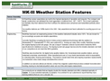 MK-lll Weather Station Features